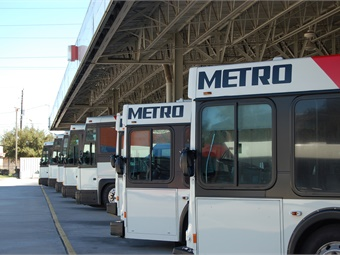 METRO's team was also beneficial during the rescue efforts, shuttling evacuees to two large shelters in the Central Houston area.