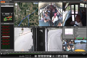 In addition to its new DVR line, REI released a new version of its BUS-WATCH viewing software (pictured) that is more user-friendly and packed with features.