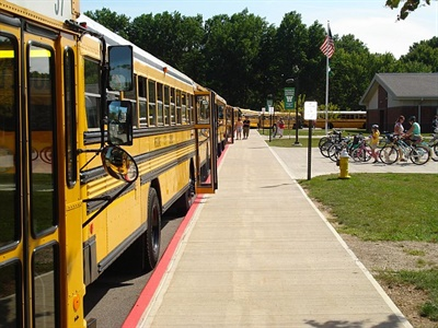"""The Federal Motor Carrier Safety Administration and selected stakeholder groups recently finalized a negotiated rulemaking to shape a new federal mandate for entry-level commercial drivers. The school bus CDL """"S"""" endorsement was not mentioned in the congressional requirement. Photo by Gavin Berwald"""