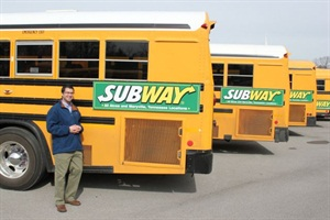District Solutions' Todd Isaacs says that school bus advertising can help cash-strapped districts raise revenue, and he points to the ads' record on the road.