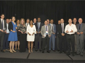 In all, METRO honored seven bus operations and their supplier partners for implementing a new initiative that helped them improve training, save money, run more efficiently, streamline operations, or improve safety.Mark Hollenbeck