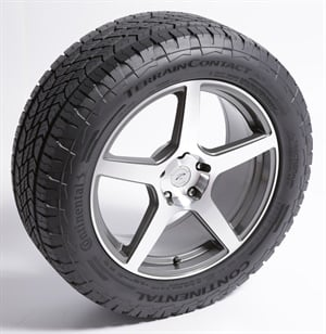 The Continental Tire TerrainContact A/T was the winner in the Tire and Related Product divsion.