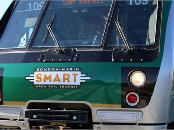 SMART's initial 43 miles of rail corridor includes 10 stations, from the Sonoma County Airport to Downtown San Rafael.