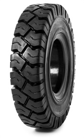 Camso says the Solideal RES 550 Magnum is the ideal choice for applications requiring medium to and heavy loads, but do not operate 24/7. It is one of three solid forklift tires Camso released last fall.