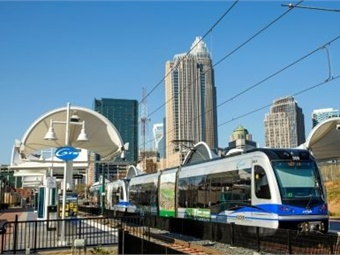 Charlotte Area Transit system's LYNX Blue Line saw ridership growth of more than 12% during the third quarter of 2019.