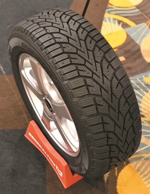 "The studdable Altimax Arctic12 is the third member of the General winter tire ""power family."" It will be available in 47 T-rated XL sizes in July, in time for the 2017-18 winter season."