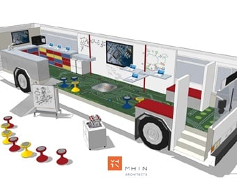 The design and deployment of a mobile STEM classroom will transform the way students experience hands-on, exciting activities statewide. STEM's goal is to develop programs that will showcase Utah companies and their technology. CCW