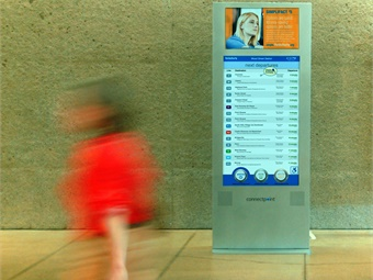 "Connectpoint® Interactive Kiosks deployed throughout the Port Authority of Allegheny transit system boasts, on one kiosk alone, monthly usage numbers for ""route planning interactions"" at 25,119 with ""trail blazer"" and ""trip plans"" at 2,370 and 1,177, respectively.
