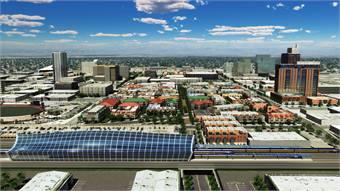 CHSRA Fresno Station rendering