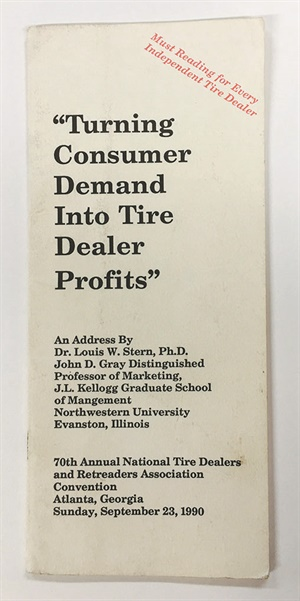 This booklet published in 1990 holds marketing truths that are just as valid today as they were almost 30 years ago.