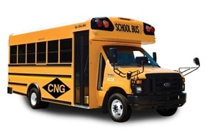 A compressed natural gas system will be available as an option on several Collins Type A models starting in spring 2012.