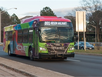 The COMET is using Lyft to replace its recently discontinued night service. Michael Dantzler