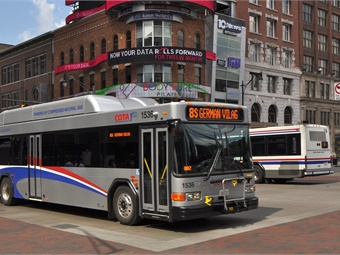 The new leader of the transit agency likely will determine if COTA remains a bus company, implements light rail or takes advantage of its SmartColumbus connection. Photo: COTA