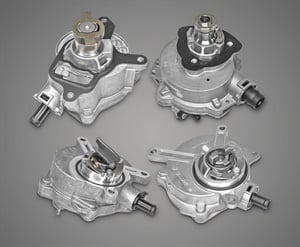 Rein Automotive Vacuum Pumps are available for popular Audi, BMW, Mercedes-Benz, Rolls Royce, VW, and Volvo models.