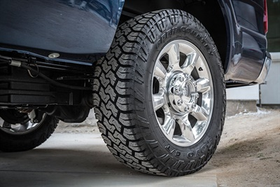The Toyo Open Country C/T (for Commercial Terrain) is designed primarily for 1/2-ton to 1-ton pickup trucks.