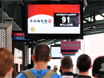 Today, digital signage receives 400% more views than paper displays, increasing the number of eyes on a time-sensitive alert and maximizing the visibility of these messages and serving a valuable public service.