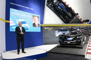 Steve Carlisle is the president of Cadillac for GM, a brand that has used Michelin tires since 2009 on its V-series vehicles.