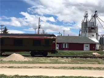 Completed in 1887 with operation beginning in 1888, the Rock Island Railway reached from Rock Island, Illinois, to Colorado Springs, Colorado.