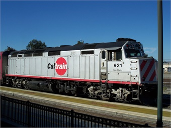 With Caltrain's conversion from diesel to electric under construction, the system is installing the technology that will be needed to provide Wi-Fi. Eugene Zelenko