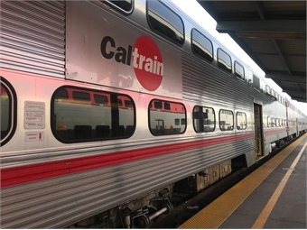 Caltrain operates in three jurisdictional counties in California: San Francisco, San Mateo, and Santa Clara.  Photo: Caltrain/Facebook