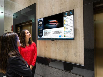 Now available in Captivate's Multipurpose Display and easily accessible through the Custom Content Window online portal, TransitScreen helps tenants take control with real-time transit data, customized with the most relevant information.Captivate