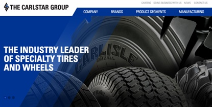 Carlstar is upgrading its online presence, and that includes a new look for its corporate website.