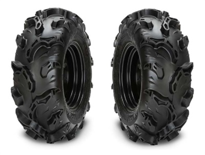 Carlstar says the new Black Rock M/S tire's mud spikes break the suction often associated with deep, soupy mud.