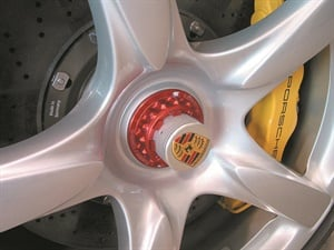 Some exotic performance cars feature pin-drive wheels, which require a special wrench for spindle nut service. These applications will commonly feature right-hand thread on one side and left-hand thread on the opposite axle side. They also require very high torque value, necessitating a special torque-multiplying tool.