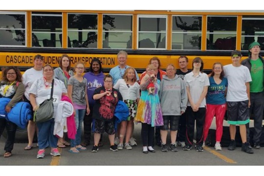 Employees at Cascade Student Transportation volunteered to transport Special Olympics athletes for the recent State Summer Games in Idaho.