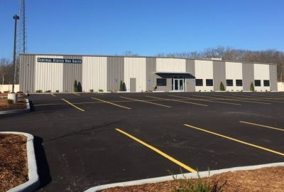 Central States CEO Jeff Reitz says the new facility offers the ability to expand parking to accommodate more buses as business grows.