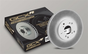 Centric Parts says advanced RS200 Brake Rotor Coating on the non-friction mating surfaces of GCX Elemental Protection Disc Brake Rotors results in a 20% faster pad bed-in.
