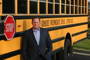 Chad Sexton, director of transportation services at Genesee Intermediate School District, sent the Michigan State Police a letter of concern about the rate of stop-arm running.