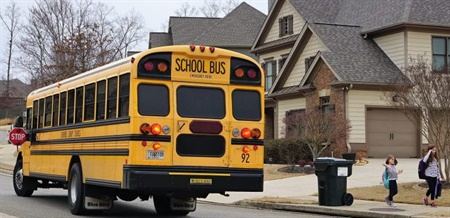 Cherokee County School District will roll out the Versatrans My Stop bus tracking app to three schools next week.