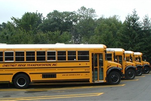 Chestnut Ridge Transportation will retrofit 40 buses with EPA-verified diesel oxidation catalysts (DOC) and direct-fired heaters with a grant from the agency. Another 75 buses that have DOCs will be equipped with direct-fire heaters.