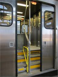 Metra is adding doors with sensitive edges, similar to elevator doors, which will retract if they come into contact with a person or object in the way.