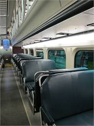 The railcars will feature new composite floors and seats that meet the latest safety regulations.