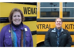 Marcia Hahn is transportation director at Wenatchee (Wash.) School District #246. Her son, Ryan, is transportation director at Central Kitsap School District #401 in Silverdale, Wash.