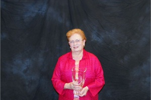 Betty Jeanne Trobec, owner of Trobec's Bus Service Inc., received the Lifetime Achievement Award.