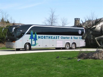 NorthEast Charter was founded in 1999 and has grown to a fleet of 26 motorcoaches, 28 school buses, 2 trolley, and other smaller vehicles. Photo: International Motorcoach Group