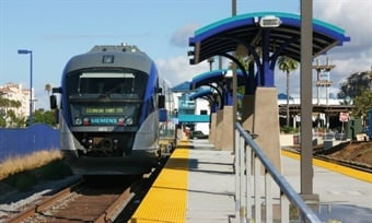 The SPRINTER launched in 2008, and has served 15 stations along a 22-mile route from Escondido to Oceanside.