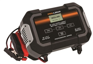 With three charge rates, the Pro-Logix PL2545 can manage lead acid batteries of any size, from small powersport batteries up to Group 31 batteries.