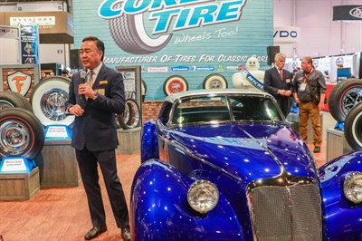 Wade Kawasaki announces the Coker Group has partnered with German tire distributor MOR (Münchner Oldtimer Reifen) GmbH.
