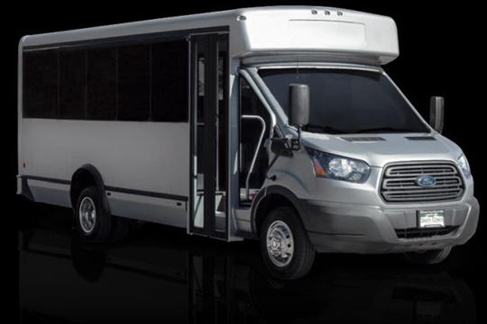 Collins will provide 400 paratransit buses for New York City Transit. The manufacturer has a new commercial bus product, seen here.