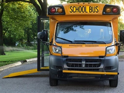 Collins Launches New Low Floor Bus Special Needs