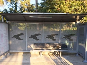 Tolar Manufacturing will be tasked with building a suite of products including bus shelters, benches and other outdoor street furniture.Photo courtesy of Tolar Manufacturing.