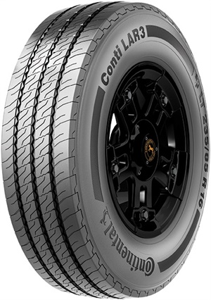 Continental says the new Conti LAR 3 performs admirably in the high scrub conditions faced by regional delivery drivers and provides industry-leading miles to removal.