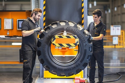 Continental will offer 100 sizes in its Tractor70 and Tractor85 (pictured) lines by 2019.
