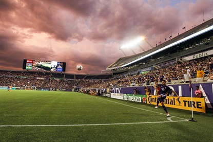 Continental will continue is marketing efforts on professional soccer fields across North America, as the official tire of the MLS and U.S. Soccer.