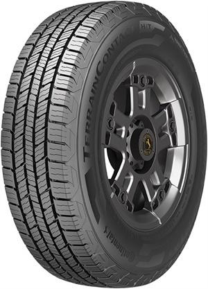 Caption: Continental says the new TerrainContact H/T is the ideal tire for those that value a quiet and comfortable ride with excellent wet traction.