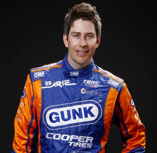 Cooper-sponsored professional driver Arie Luyendyk Jr. is taking part in a tire safety campaign during National Tire Safety Week.